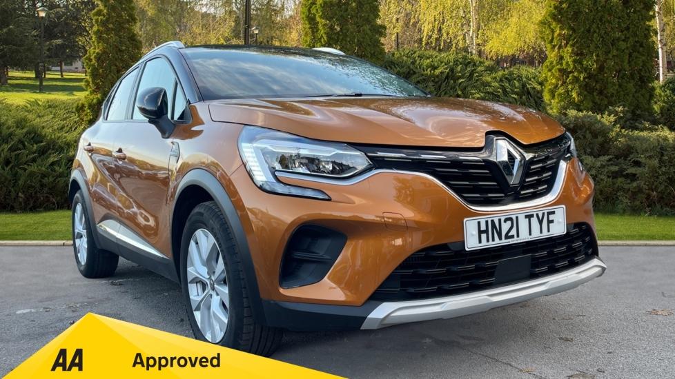 Renault Captur 1.0 TCE 90 Iconic 5dr - Lane Departure Warning, Cruise Control, Parking Sensors & Sat Nav Hatchback (2021)