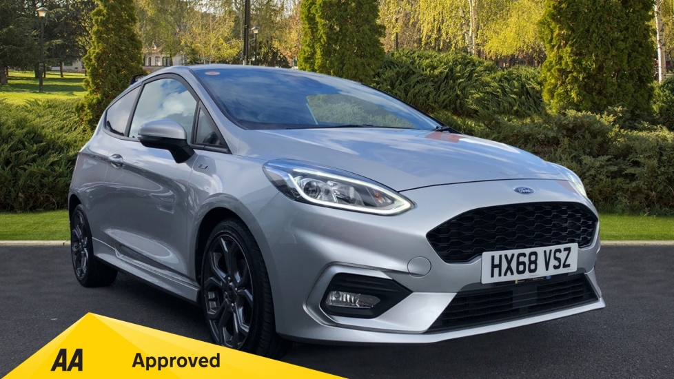 Ford Fiesta 1.0 EcoBoost 140 ST-Line 3dr - Premium Body Colours & Privacy Glass Hatchback (2018)