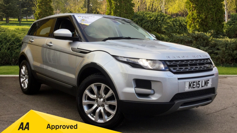Land Rover Range Rover Evoque 2.2 SD4 Pure 5dr [9] [Tech Pack] Diesel Automatic Hatchback (2015) at Renault Bury thumbnail image