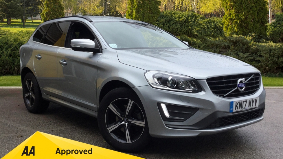 Volvo XC60 D5 [220] R DESIGN Nav 5dr AWD Geartronic- Winter Pack & Rear Privacy Glass 2.4 Diesel Automatic Estate (2017)