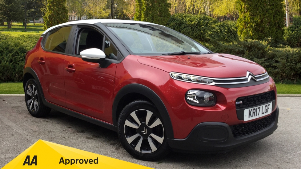 Citroen C3 1.2 PureTech 82 Feel 5dr Hatchback (2017) available from County Motor Works Vauxhall thumbnail image