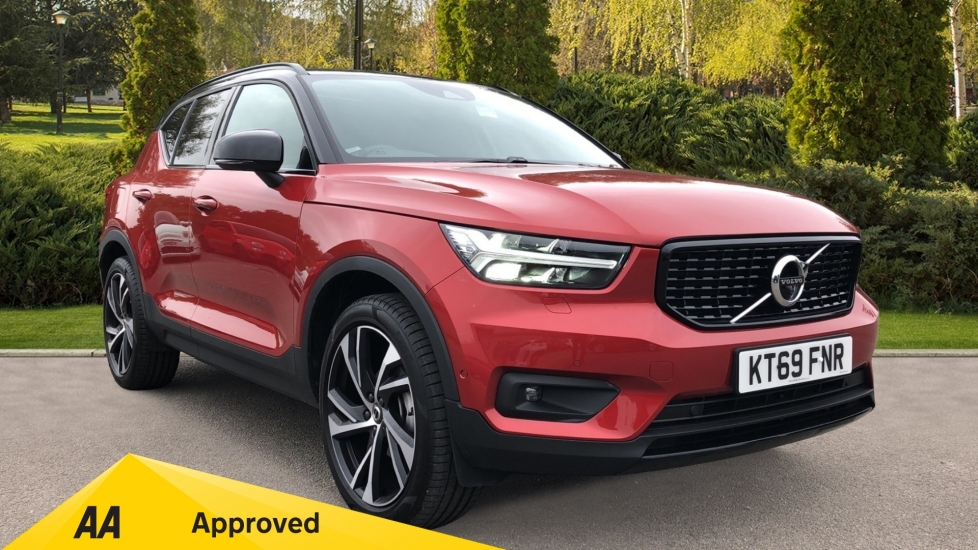 Volvo XC40 T3 R Design Pro Manual, Xenium & Convenience Pks, Sunroof, 360 Camera, Adaptive Cruise 1.5 5 door Estate (2019) image