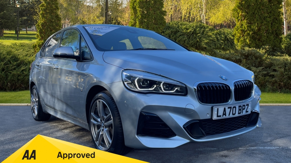 BMW 2 Series 225xe M Sport - Hybrid, Satellite Navigation, Reverse Camera with Parking Sensors & Cruise Control 1.5 Petrol/Electric Automatic 5 door Hatchback (2020) image