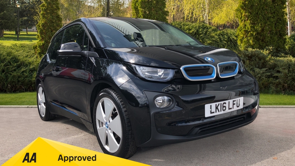 BMW i3 125kW Range Extender [Loft Int World] - 1 Owner, Park Assist Package & Harman/Kardon Speakers 0.6 Petrol/Electric Automatic 5 door Hatchback (2016)