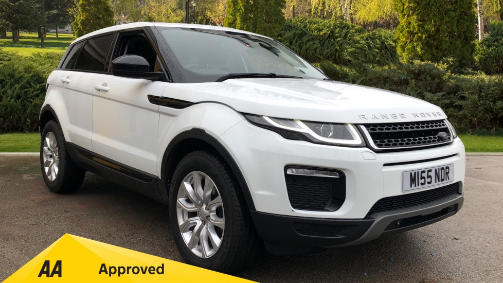 Land Rover Range Rover Evoque 2.0 TD4 SE Tech 5dr - Fixed Panoramic Roof, Privacy Glass & Climate Control Diesel Automatic 4x4 (2016)