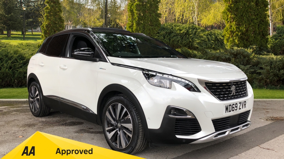 Peugeot 3008 1.6 Hybrid4 300 GT e-EAT8 Petrol/Electric Automatic 5 door Estate (2020) image