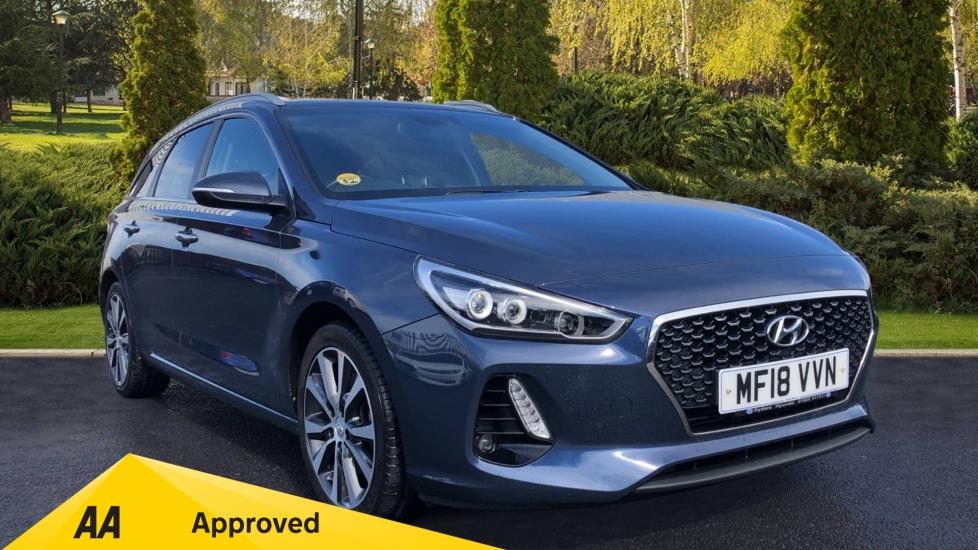Hyundai i30 1.6 CRDi Premium SE 5dr - Cruise Control, Bluetooth & Multifunction Display Screen Diesel Estate (2018)