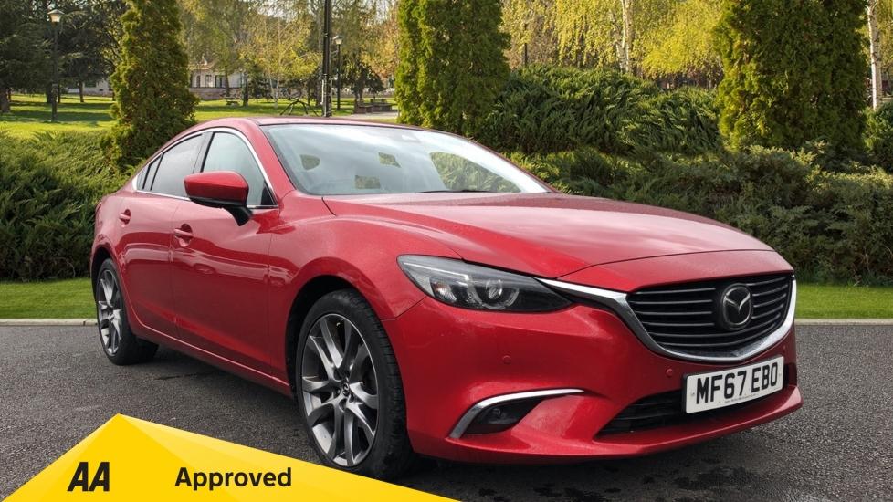 Mazda 6 2.2d [175] Sport Nav 4dr  Diesel Automatic Saloon (2017)