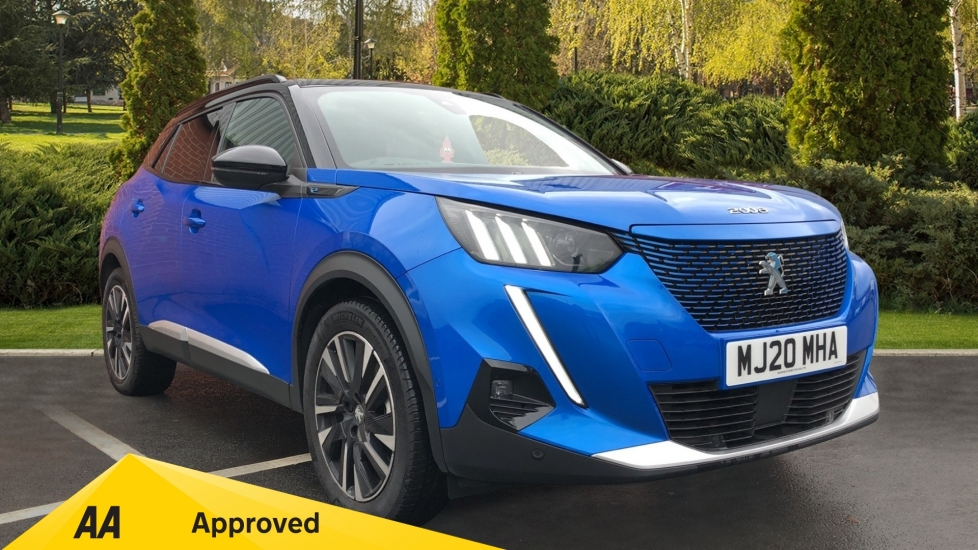 Peugeot 2008 SUV 100kW GT Line 50kWh Electric Automatic 5 door Estate (2020)