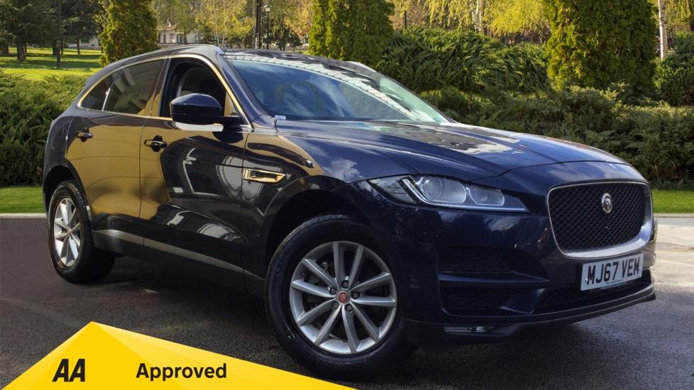 Jaguar F-PACE 2.0d Prestige 5dr AWD - Parking Sensors, Satellite Navigation & DAB Diesel Automatic Estate (2018) image