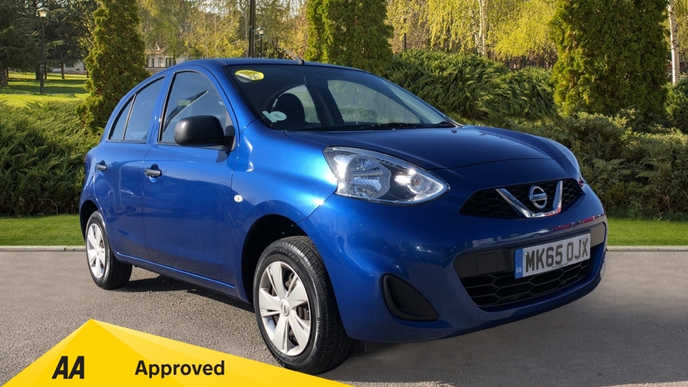 Nissan Micra 1.2 Visia 5dr - Low Mileage, Stereo radio/CD player and MP3 Player Hatchback (2015)