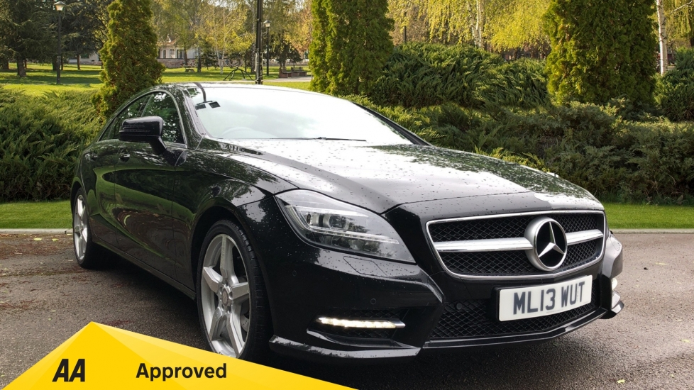 Mercedes-Benz CLS-Class CLS 250 CDI BlueEFFICIENCY AMG Sport 4dr Tip 2.1 Diesel Automatic Saloon (2013)