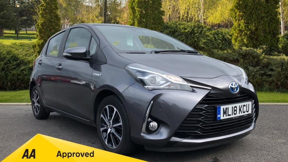 Toyota Yaris 1.5 Hybrid Icon Tech CVT Petrol/Electric Automatic 5 door Hatchback (2018)