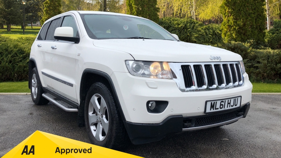 Jeep Grand Cherokee 3.0 CRD Limited 5dr Diesel Automatic Estate (2011)