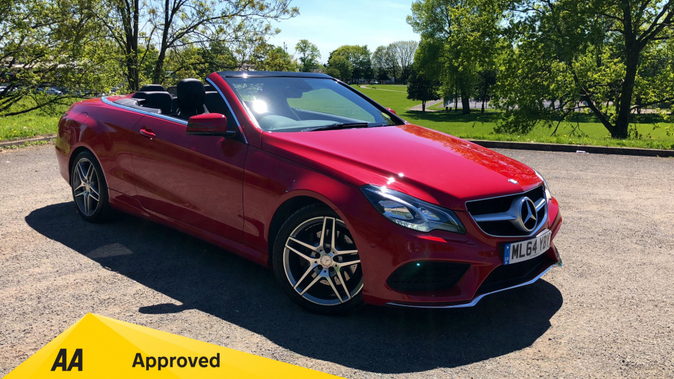 Mercedes-Benz E-Class Cabriolet E220 CDI AMG Sport 2dr 7G-Tronic 2.1 Diesel Automatic Cabriolet (2014) image