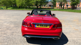 MERCEDES E-CLASS E220 CDI AMG SPORT CONVERTIBLE, DIESEL, in RED, 2014 - image 4