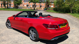 MERCEDES E-CLASS E220 CDI AMG SPORT CONVERTIBLE, DIESEL, in RED, 2014 - image 5