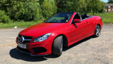 MERCEDES E-CLASS E220 CDI AMG SPORT CONVERTIBLE, DIESEL, in RED, 2014 - image 8