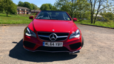 MERCEDES E-CLASS E220 CDI AMG SPORT CONVERTIBLE, DIESEL, in RED, 2014 - image 9