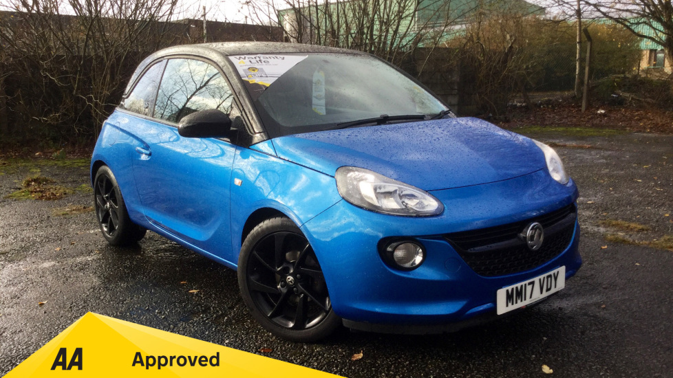Vauxhall Adam 1.2i Energised 3dr Hatchback (2017) at Oldham Motors Citroen, Fiat and Jeep thumbnail image