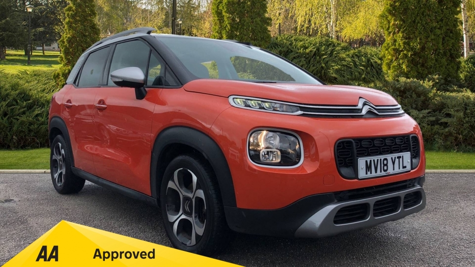 Citroen C3 Aircross SUV 1.2 PureTech 130 Flair 5dr with Opening panoramic roof with sunblind & Urban Red Ambiance Hatchback (2018)