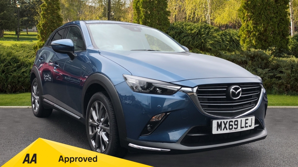 Mazda CX-3 2.0 Sport Nav + 5dr - Low Mileage, Heated Seats, Sat Nav, Reverse Cam & Cruise Control Hatchback (2019) at Bolton Motor Park Abarth, Fiat and Mazda thumbnail image