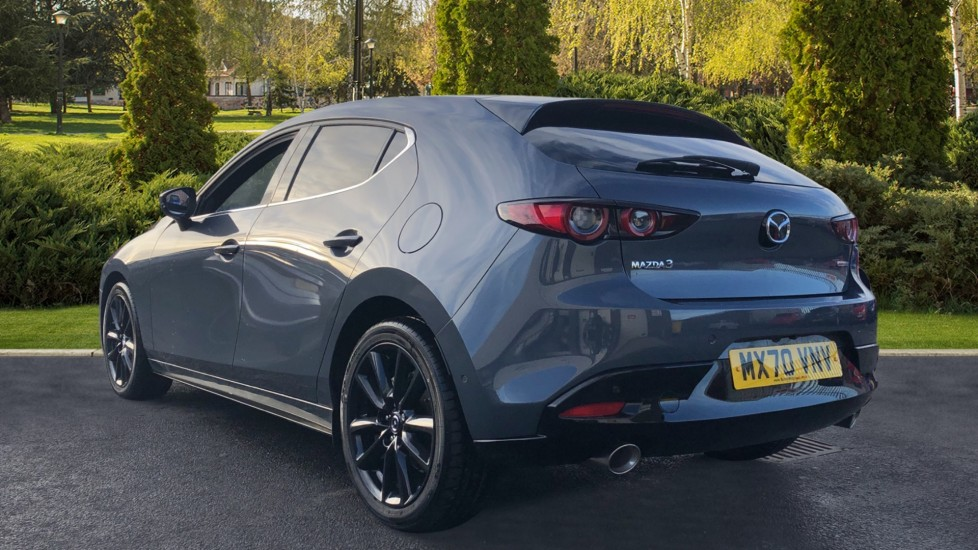 Mazda 3 2.0 Skyactiv-X MHEV GT Sport Tech 5dr, Red Leather Interior, Heated Seats, Reverse Camera image 2