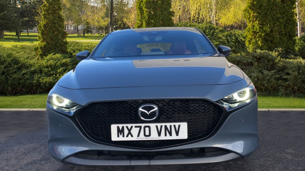 Mazda 3 2.0 Skyactiv-X MHEV GT Sport Tech 5dr, Red Leather Interior, Heated Seats, Reverse Camera image 7