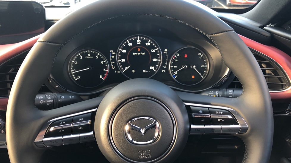 Mazda 3 2.0 Skyactiv-X MHEV GT Sport Tech 5dr, Red Leather Interior, Heated Seats, Reverse Camera image 27