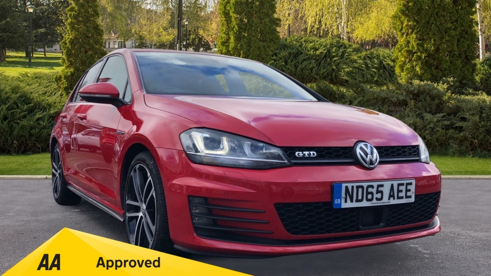 Volkswagen Golf 2.0 TDI GTD 5dr - Heated Seats & Satellite Navigation  Diesel Hatchback (2015) image