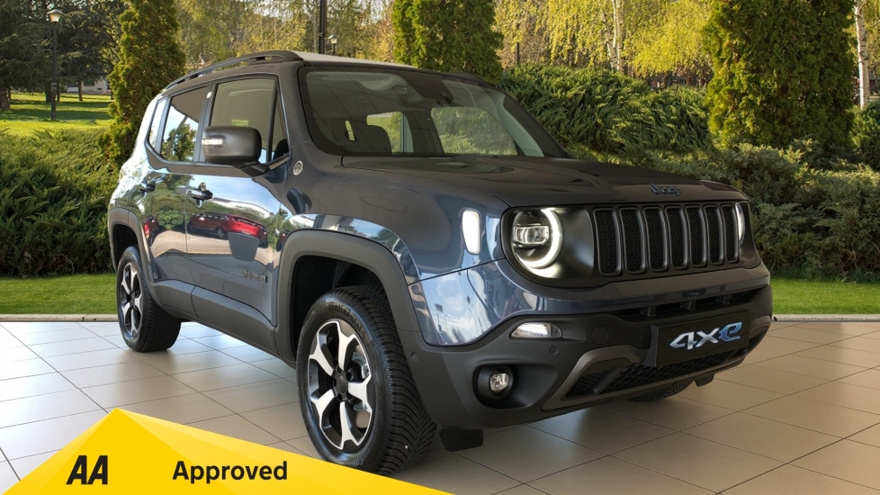 Jeep Renegade 4xe 1.3 Turbo 4xe PHEV 240 Trailhawk Petrol/Electric Automatic 5 door Hatchback