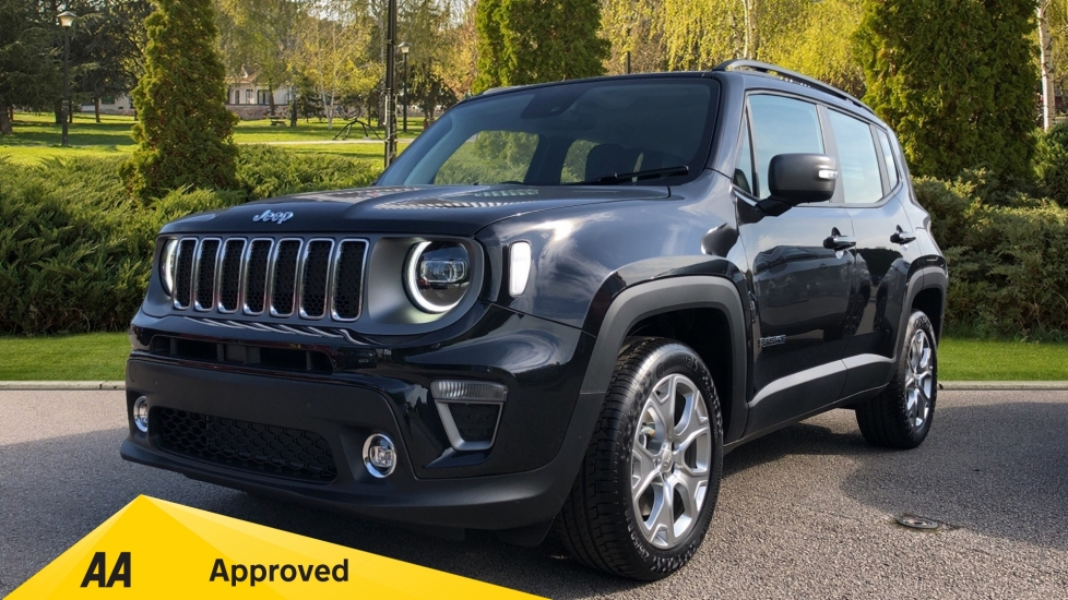 Jeep Renegade 1.3 Turbo 4xe PHEV 190 Limited 5dr Petrol/Electric Automatic Hatchback (2020) image
