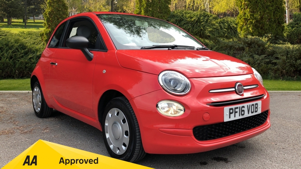 Fiat 500 1.2 Pop - Multi-function Steering Wheel 3 door Hatchback (2016) image