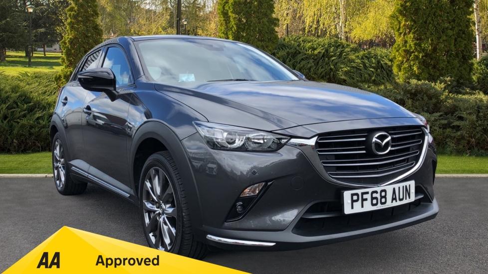 Mazda CX-3 2.0 Sport Black + Great MPG, Cruise Control, Alloy Wheels Automatic 5 door Hatchback (2018)