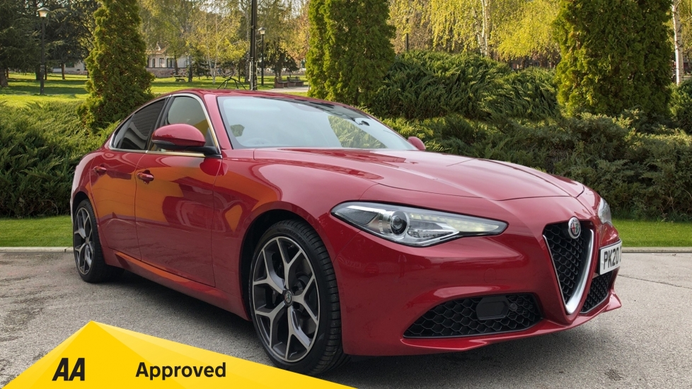 Alfa Romeo Giulia 2.0 TB Lusso Ti 4dr - Huge Saving From New List Automatic Saloon (2020) image