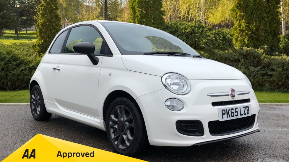 Fiat 500 1.2 S with Bluetooth, Air-Con, Grey Alloys 3 door Hatchback (2015)