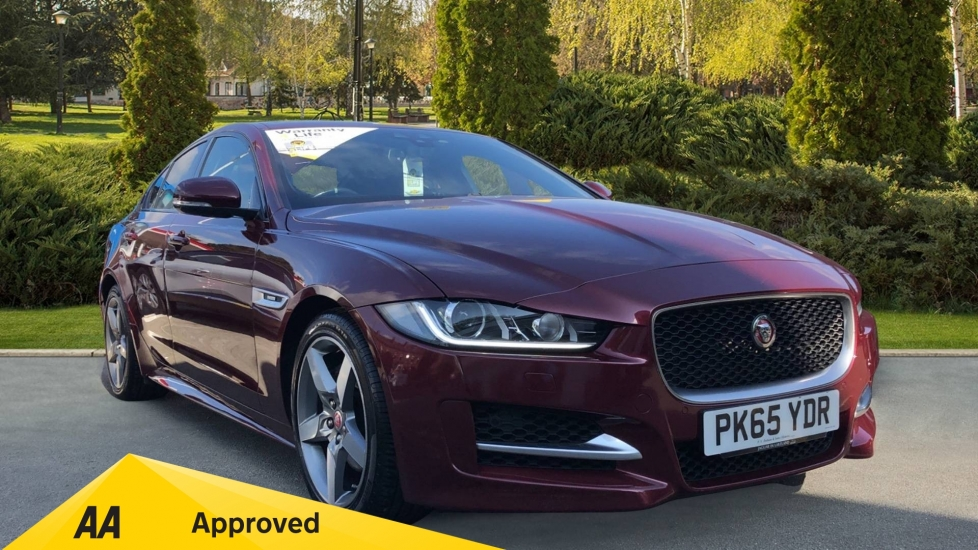 Jaguar XE 2.0d [180] R-Sport 4dr [Rear Camera][Sliding Glass Roof] Diesel Saloon (2015)