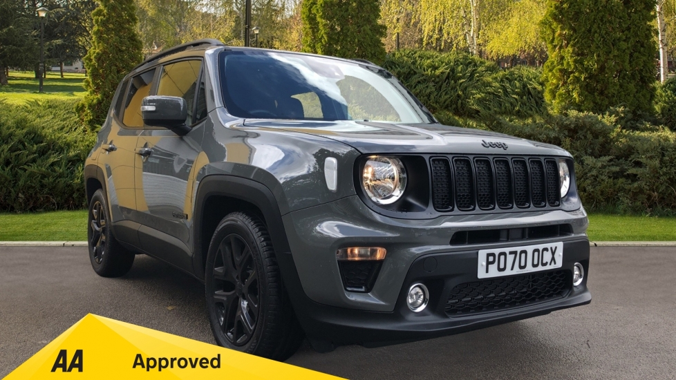 Jeep Renegade 1.3 T4 GSE Night Eagle II 5dr DDCT Automatic Hatchback (2020)