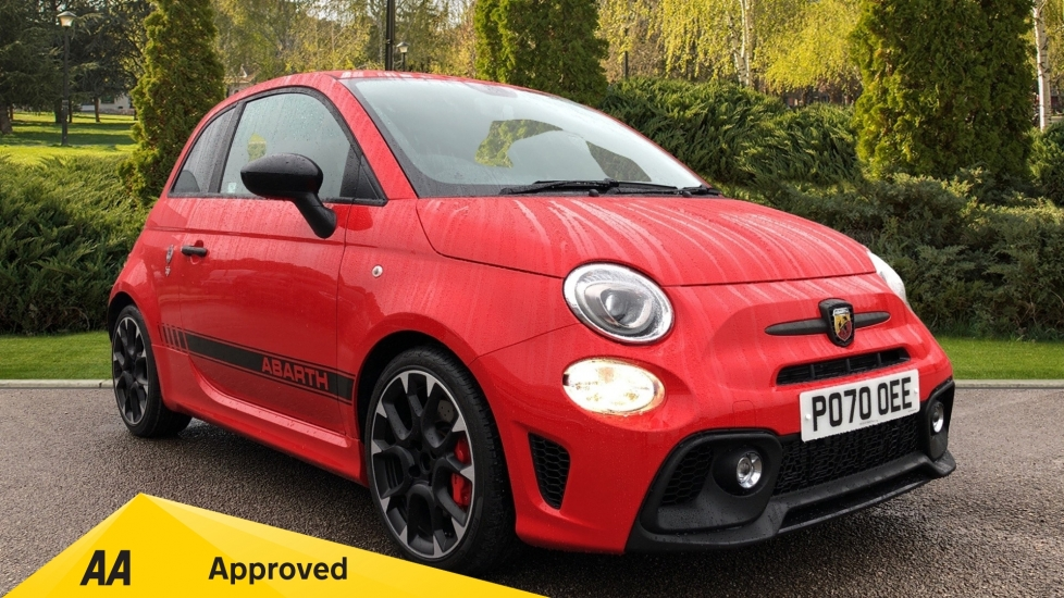 Abarth 595 1.4 T-Jet 180 Competizione 70th Anniversary SPECIAL EDITION 3 door Hatchback (2020) available from Oldham Motors Citroen, Fiat and Jeep thumbnail image