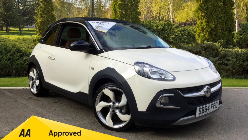Vauxhall Adam 1.4i Rocks Air 3dr with Electric Sunroof Hatchback (2014) image