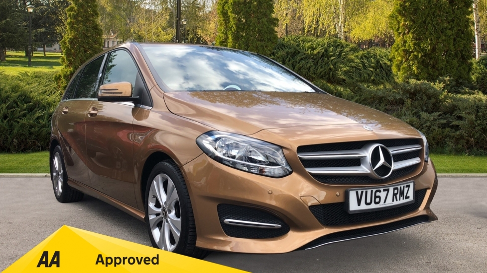 Mercedes-Benz B-Class B220d Sport 5dr - Privacy Glass, Apple CarPlay, Android Auto & Reverse Camera 2.1 Diesel Automatic Hatchback (2017) image