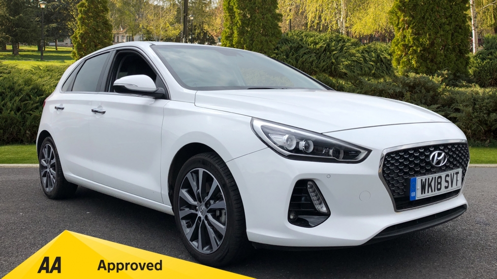 Hyundai i30 1.4T GDI Premium 5dr Hatchback (2018) image