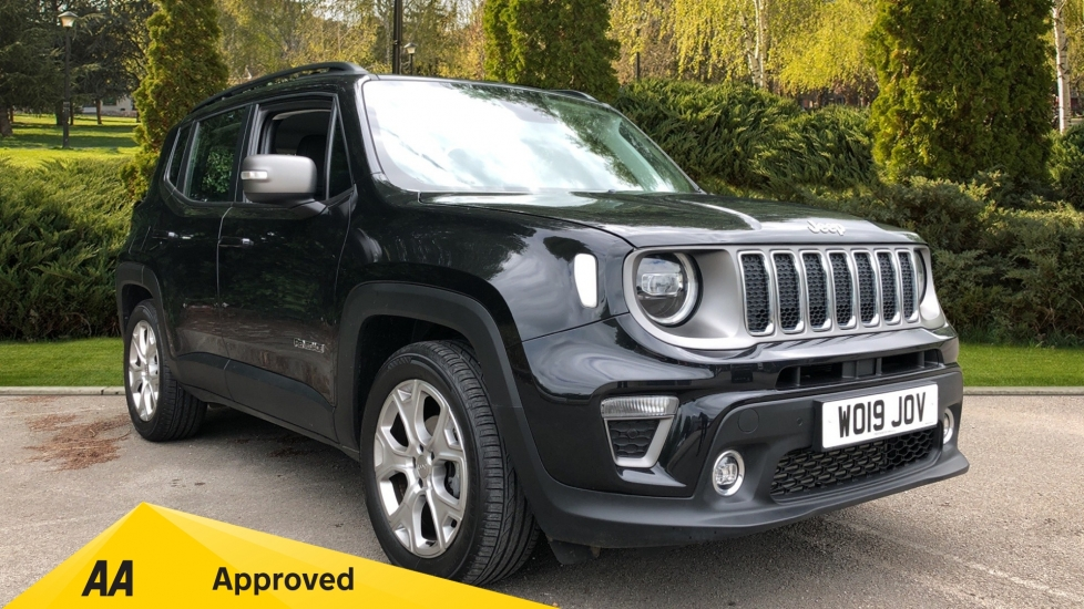 Jeep Renegade 1.6 Multijet Limited 5dr DDCT AUTOMATIC SAT NAV FRONT and REAR PARK SENSORS  Diesel Automatic Hatchback (2019)