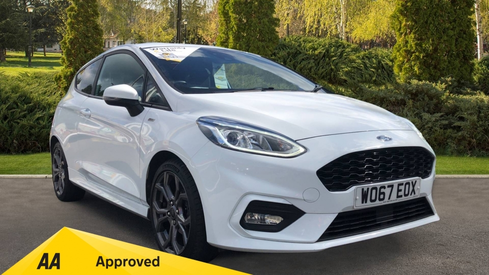 Ford Fiesta 1.0 EcoBoost ST-Line 3dr - Premium Body Colours & Privacy Glass  Hatchback (2018)