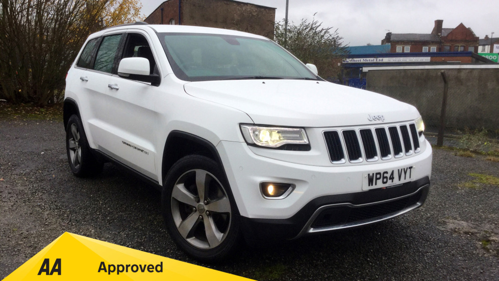 Jeep Grand Cherokee 3.0 CRD Limited Plus 5dr with UConnect Diesel Automatic Estate (2014) image