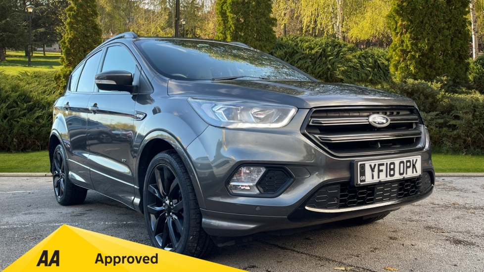 Ford Kuga 2.0 TDCi 180 ST-Line X 5dr - Power Opening Panoramic Roof, Power Tailgate & 19in Alloys Diesel Estate (2018) image