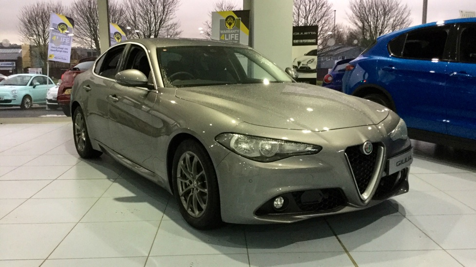 Alfa Romeo Giulia 2.2 JTDM-2 Tecnica with Low Mileage and Excellent Saving Diesel Automatic 4 door Saloon (2018) image