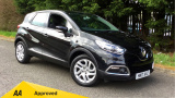RENAULT CAPTUR DYNAMIQUE NAV TCE HATCHBACK, PETROL, in BLACK, 2017 - image 0