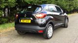 RENAULT CAPTUR DYNAMIQUE NAV TCE HATCHBACK, PETROL, in BLACK, 2017 - image 3