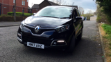 RENAULT CAPTUR DYNAMIQUE NAV TCE HATCHBACK, PETROL, in BLACK, 2017 - image 8
